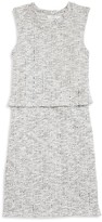 Pinc Premium Girls' Textured Popover Sweater Dress - Sizes S-XL