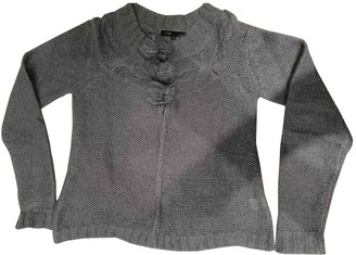 Maje Grey Cashmere Knitwear for Women