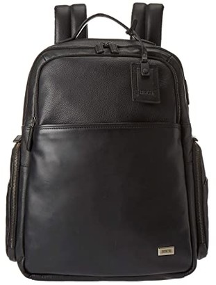 Bric's Milano Torino Business Backpack (Large) (Black) Backpack Bags