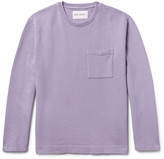 Our Legacy - Cotton And Linen-blend Sweatshirt