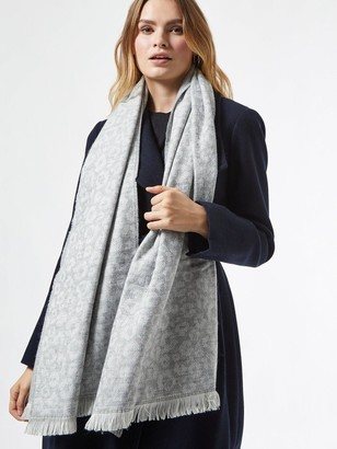 Dorothy Perkins Animal PrintScarf - Grey