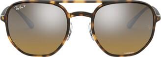 Ray-Ban Rb4321ch Havana Sunglasses
