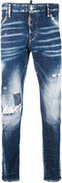 DSQUARED2 denim distressed jeans - men - Cotton/Polyester/Spandex/Elastane - 44