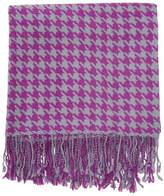 A & R Cashmere Cashmere Blend Houndstooth Throw