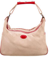 Tod's Leather-Accented Hobo