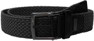 Nike Stretch Woven (Dark Grey) Men's Belts
