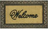 """Bacova Basketweave 23"""" x 39"""" Welcome Doormat Bedding"""
