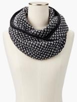 Talbots Tuck-Stitched Infinity Scarf
