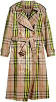 Burberry Laminated Check Trench Coat – Online Exclusive