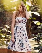 Lipsy Floral Bardot Prom Dress