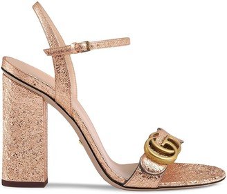 Gucci Double G 105mm sandals