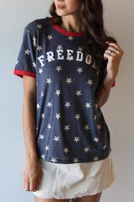 The Light Blonde Freedom Tee