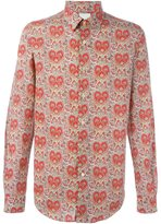 Paul Smith 'Paisley Heart' print shirt