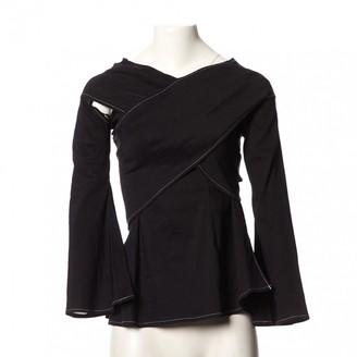 Beaufille Black Linen Top for Women