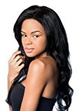 Sexy Girl Hair Human Full Lace Wig Brazilian Remy Human Silky Straight Hair Lace Wigs with Baby Hair For African Americans 150% Density Jet Black (#1) 10inch