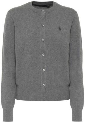 Polo Ralph Lauren Logo cotton-blend cardigan