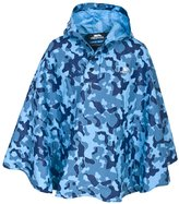 Trespass Childrens Boys Soldier Waterproof Packaway Poncho Jacket
