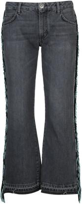 Alanui Fringed Cropped Jeans