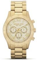 Michael Kors Men's Round Gold Watch, 45mm