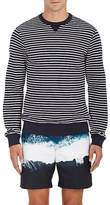 Orlebar Brown Men's Pierce Striped Stretch-Cotton Sweatshirt