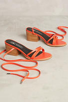 Sol Sana Tabitha Heeled Ankle-Tie Sandals