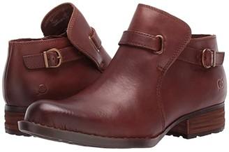 Børn Kristina (Black Full Grain) Women's Pull-on Boots