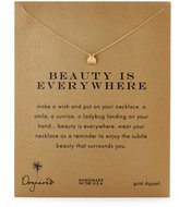 Dogeared Beauty Is Everywhere Ladybug Necklace