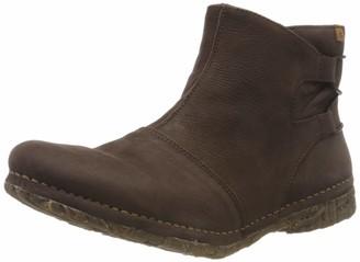 El Naturalista Women's N5570 Soft Grain Brown/Volcano Ankle Boot 7 UK