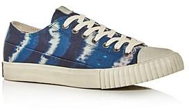 John Varvatos Bootleg Men's Vulcanized Tie-Dye Low-Top Sneakers