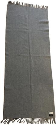 Acne Studios Grey Wool Scarves