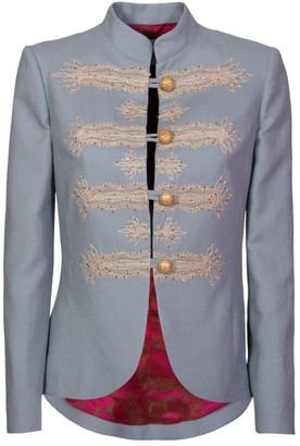 The Extreme Collection Blue Military Blazer Valentina