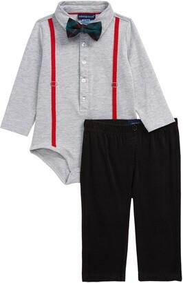 Andy & Evan Bodysuit, Pants & Bow Tie Set