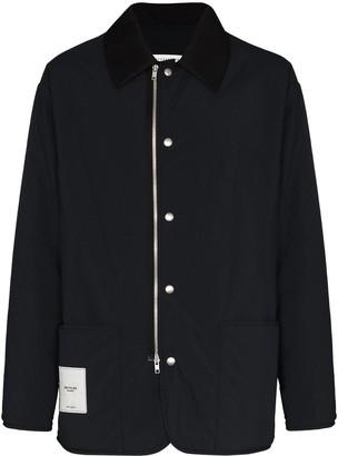 Maison Margiela Recycled Zip-Front Shell Jacket