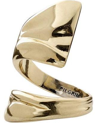 Pilgrim Ring : Water : Gold Plated