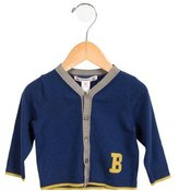 Bonpoint Boys' Button-Up Wool-Blend Cardigan w/ Tags