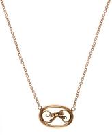 Annina Vogel Rose Gold Bow Necklace