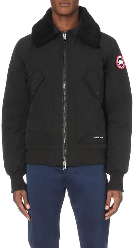 Canada Goose Bromley down-filled shell jacket