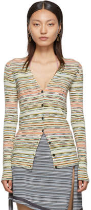 Missoni Multicolor Striped Cardigan