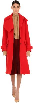 Victoria Beckham Virgin Wool Blend Boucle Coat