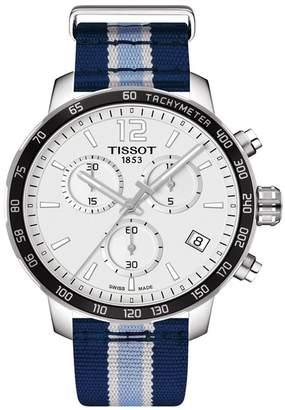 Tissot Men's Quickster Chronograph NBA Memphis Grizzlies Watch, 42mm