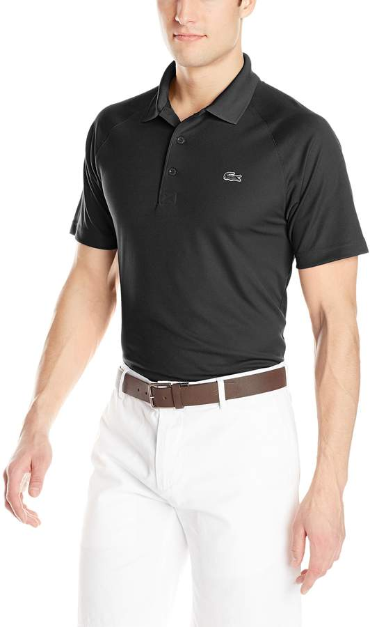 9ee1d107 Black Lacoste Polo - ShopStyle Canada