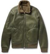Officine Generale Sasha Shearling Flight Jacket