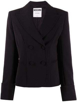 Moschino Double-Breasted Blazer Jacket