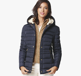 Johnston & Murphy Quilted Down Jacket with Bib