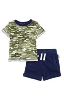 Splendid Infant Boy's Cactus Camo T-Shirt & Shorts Set