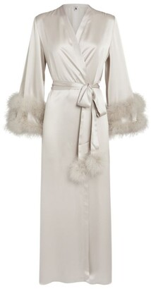 Gilda and Pearl Silk Robe