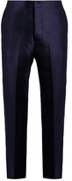 Bottega Veneta Cotton And Silk-blend Trousers