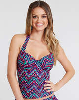 Just Peachy By Figleaves.com Bellini Underwired Halter Tankini Top