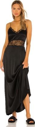 NBD Lace Trim Slip Dress