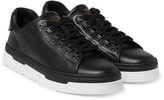 Valentino - Mountain Leather Sneakers